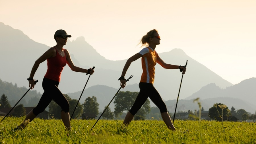 Fit durch den Winter 2 - Nordic Walking am Dienstag