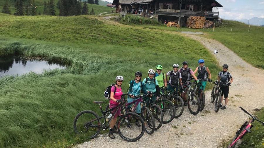 Bericht Bike-Weekend Frauen