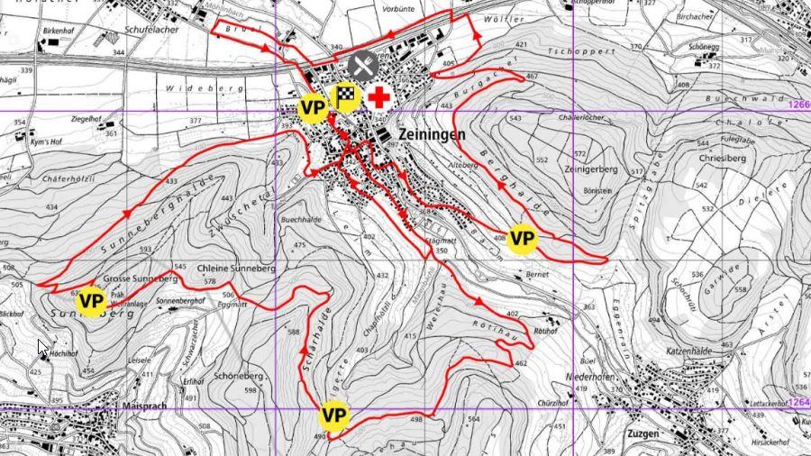 1. Zeininger Halbmarathon vom 21. August 2021